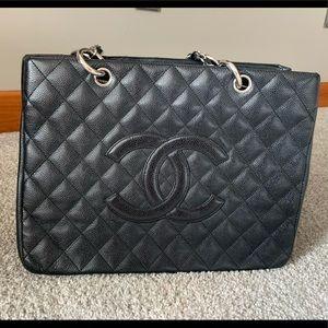 Chanel Black Grand Shopper